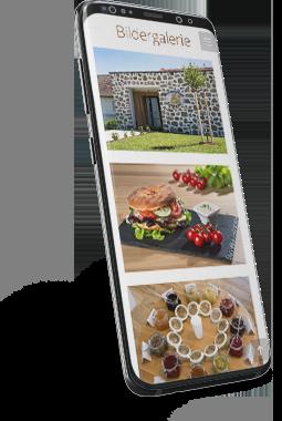Homepage Bauernkrapfen-Schleiferei mobile Version
