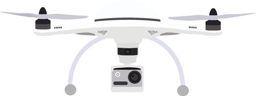 Drohne Referenzen