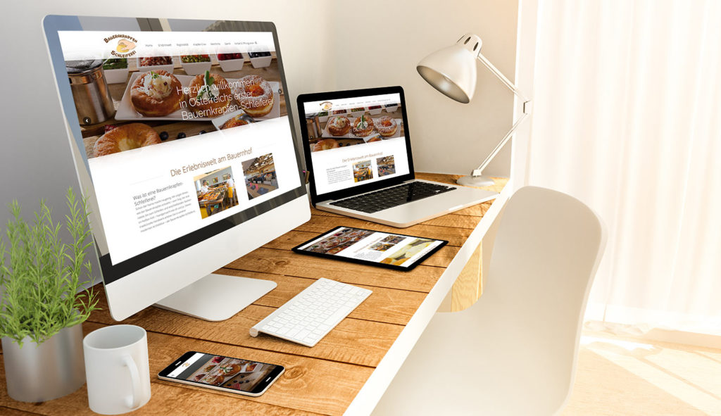 Homepage und Webdesign von Fresh Media Werbeagentur