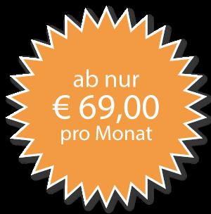 Ab nur 69€ pro Monat
