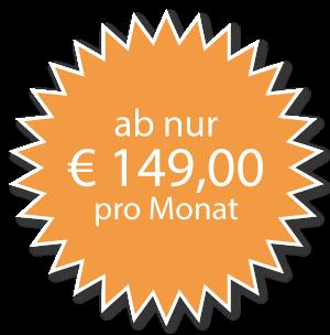 Homepage ab nur 149€ pro Monat